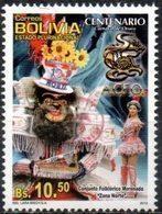 """Bolivia 2018 ** CEFIBOL 2358 (2013 #2199) Carnaval De Oruro Habilitado """"Agencia Boliviana De Correos"""" - Bolivia"""