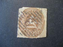 Altdeutschland Braunschweig 1865- Freimarken Wappen Des Herzogtums Braunschweig Mi.Nr. 20 Mit Falz - Brunswick