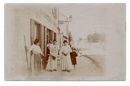 42  ROANNE  -  Café Du Commerce DORIER  -  (Rue Ste-Claire)  -  Carte-Photo - Roanne