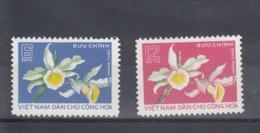 Vietnam Michel Cat.No. Unused 841/842 Orchid - Vietnam