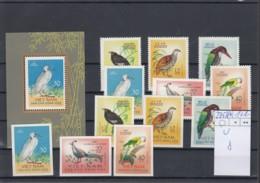 Vietnam Michel Cat.No.  Unused 275/278 + U + Sheet 8 Birds - Vietnam
