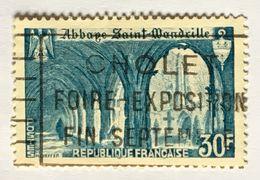 YT 888 (°) Oblitéré 1951 Abbaye De Saint Wandrille (côte 5,35 Euros) – Kr1lot - Gebruikt