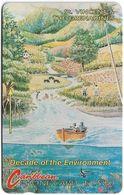 St. Vincent & Grenadines - Environment River, 4CSVA, 1991, 6.000ex, Used - St. Vincent & Die Grenadinen