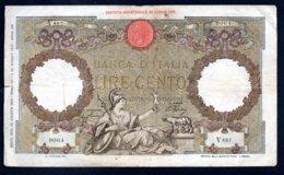 Banconota Banca D'Italia £ 100 Roma Guerriera (circolata) - 28-8-1942 - 100 Lire