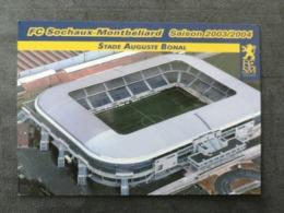 Montbéliard Stade Bonal Saison 2003/2004 - Sin Clasificación