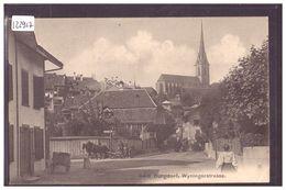 BURGDORF - BERTHOUD - WYNINGERSTRASSE - ATTELAGE - B ( PETIT PLI D'ANGLE ) - BE Berne