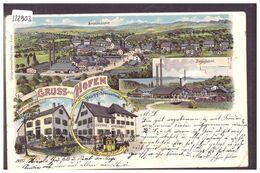 GRUSS AUS HOFEN - LITHO - B ( MINI PLI D'ANGLE EN BAS A DROITE ) - SH Schaffhausen