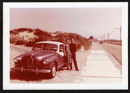 Photo Originale 12,5 Cm X 9 Cm - Automobile ALFA-ROMEO Giuletta - Voiture - Voir Scan - Cars