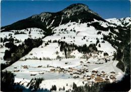 Kiental, Berner Oberland - Dorf Mit Standfluh (1230) * 2. 2. 1982 - BE Berne