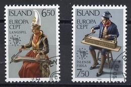 Islande - Island - Iceland 1985 Y&T N°585 à 586 - Michel N°632 à 633 (o) - EUROPA - Usati