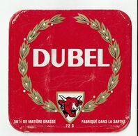 Et Cartonnée DUBEL (la Vache Qui Rit)  Fabriqué Dans La Sarthe (8,5 X 8,5) - Cheese