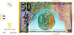 MACEDONIA 15b - 50 Denari 1997 UNC ! - Macedonia