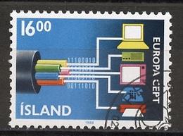 Islande - Island - Iceland 1988 Y&T N°635 - Michel N°682 (o) - 16k EUROPA - Usati