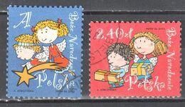 Poland  2012 - Christmas - Mi.4591-92- Used - Used Stamps