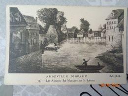 ABBEVILLE Disparu :les Anciens Six-moulins Sur La Somme,n°33 - Abbeville