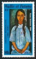 """WALLIS ET FUTUNA 1984 - Yv. PA 138 **   Faciale= 1,17 EUR - """"Alice"""", Tableau De Modigliani  ..Réf.W&F22980 - Poste Aérienne"""