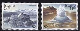 Islande - Island - Iceland 1991 Y&T N°697 à 698 - Michel N°747 à 748 *** - Norden 1991 - Unused Stamps