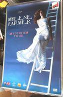 MYLENE FARMER VERITABLE AFFICHE CONCERT Format Environ 78 X 120 Cm MYLENIUM TOUR - Affiches
