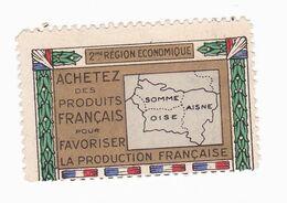 Vignette Militaire Patriotique - Achetez Des Produits Français Pour Favoriser La Production Française - Militario