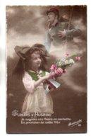 (Guerre 1914-18) 1507, Revanche 191, Fleurs D'Alsace, Petite Alsacienne - Guerra 1914-18