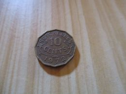 Seychelles - 10 Cents Elizabeth II 1972.N°128. - Seychelles