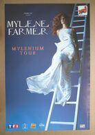 MYLENE FARMER VERITABLE AFFICHE Format Approximatif 40 X 60 Cm MYLENIUM TOUR - Affiches