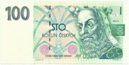 CZECH REPUBLIC - 100 Korun - 1993 - Pick 5.a - Serie A 34 - King Karel IV - Repubblica Ceca