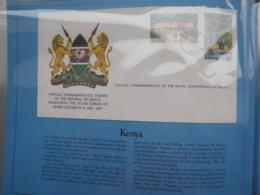 KENYA QEII SILVER JUBILEE 1977 FDC - Kenya (1963-...)