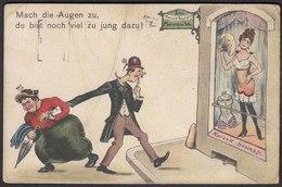 AK Sprüche Erotic 1923 Korsett Geschäft   (22670 - Postkaarten