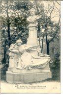 75008 PARIS - Le Parc Monceau - Statue De Guy De Maupassant - District 08