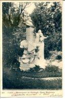75008 PARIS - Le Parc Monceau - Statue De Gounod - District 08
