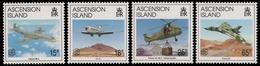 Ascension 1992 - Mi-Nr. 586-589 ** - MNH - Flugzeuge / Airplanes - Ascension