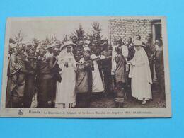 RUANDA > Le Dispensaire De KABGAYé, Ou Les Soeurs Blanches ( Missionnaires / Thill ) Anno 1925/28 ( Voir / Zie Photo ) ! - Missions