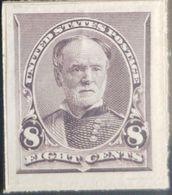 A) 1900, USA, GENERAL TECUMSEH SHERMAN, 8c, DARK VIOLET BROWN, AMERICAN BANK NOTE - Unclassified