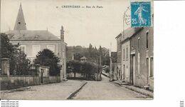 78 : Yvelines :   Crespieres  : Rue De Paris . - Altri Comuni
