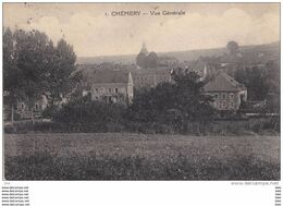 08.  Ardennes :  Chemery : Vue Generale . - Otros Municipios
