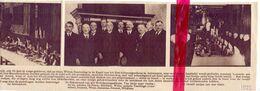 Orig. Knipsel Coupure Tijdschrift  - Antwerpen - Feestdis In De Kapel Gasthuis St Julianus - 1922 - Zonder Classificatie