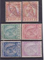 #Z.12403 Albania 1913 Incomplete Set Used, MH, (x), MNH, Michel 29 - 33: Definitive, Prince Skanderbeg - Albania