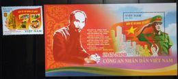 Vietnam Viet Nam MNH Perf Stamp + SS Issued 18th Aug 2020 : 75th Anniversary Of Vietnamese Police Establishment (Ms1128) - Vietnam