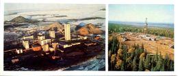 #23   Coal Mining, Mine Vorkutinskaya In Vorkuta, Komi Republic - Arctic RUSSIA - Big Size Postcard 1984 - Mines
