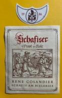 15605 - Schafiser Pinot Noir 1986 René Cosandier - Sonstige