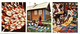 #24  Ethnicity And Folklore Of Komi Republic, Ethno Products - Arctic RUSSIA - Big Size Postcard 1984 - Costumes