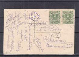 """Autriche - Carte Postale De 1921 - Oblit Hilmwarte Graz - Exp Vers Rotterdam - Voir Cachet """" Aider Les Enfants """" - Cartas"""