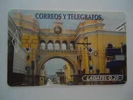 GUATEMALA USED CARDS MONUMENTS BUILDING - Guatemala