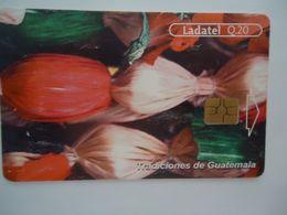 GUATEMALA USED CARDS ART POPULAR - Guatemala