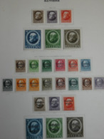 26 TIMBRES ALLEMAGNE. 26 NEUFS. BAVIERE.1914-1919.   SUR CHARNIERES. - Beieren