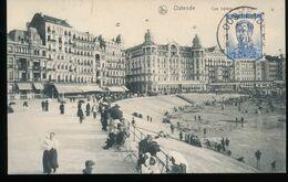 Belgique --  Ostende -- Les Hotels De La Digue - Oostende