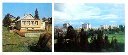 #24   Residential  Area Of Syktyvkar, Komi Republic - Arctic RUSSIA - Big Size Postcard 1984 - Russia