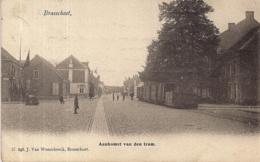 """BRASSCHAAT""""AANKOMST VAN DE STOOMTRAM""""J.VAN WESENBEECK N°293 - Brasschaat"""