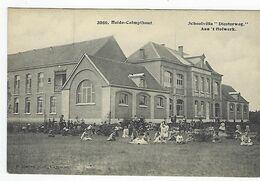 """Heide-Kalmthout    Schoolvilla """"Diesterweg""""        Aan 't Hofwerk         F.Hoelen    3860 - Kalmthout"""